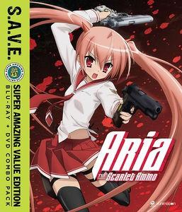 緋弾のアリア S.A.V.E. BD+DVD combo (全13話 300...