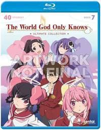 神のみぞ知るセカイ 第1〜3期+OVA  BD (北米版) B...