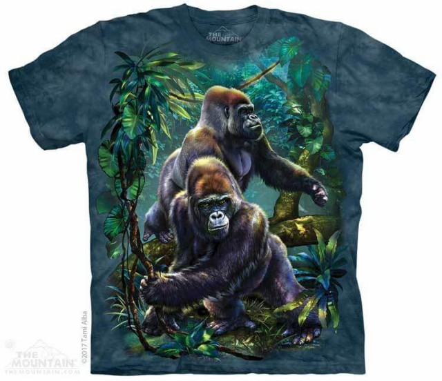 The Mountain Tシャツ Gorilla Jungle Kids T-Shi...
