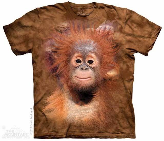 The Mountain Tシャツ Orangutan Hang Kids T-Shi...