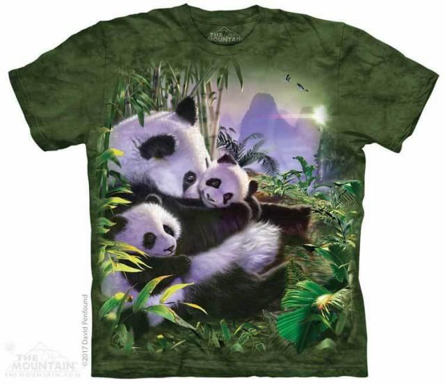 The Mountain Tシャツ Panda Cuddles T-Shirt パ...
