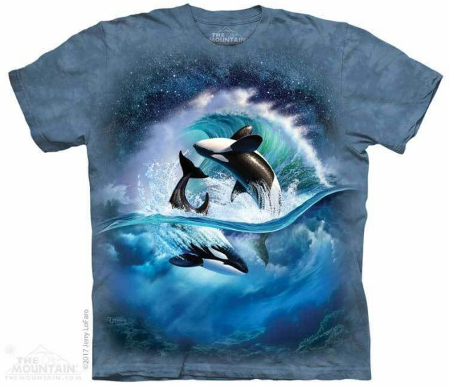 The Mountain Tシャツ Orca Wave T-Shirt シャチ ...