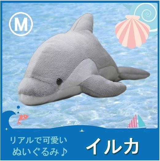 TST ぬいぐるみ 101 イルカ ぬいぐるみ M 【海の...