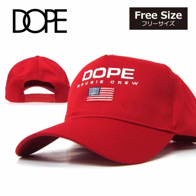 DOPEドープ キャップ DOPE SPORT CAP レッド ポロ...