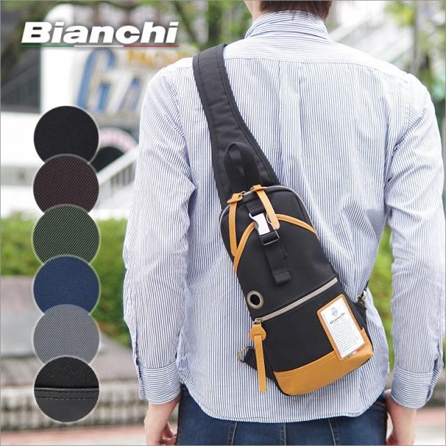 ビアンキ Bianchi ボディバッグ/ワンショルダーバ...