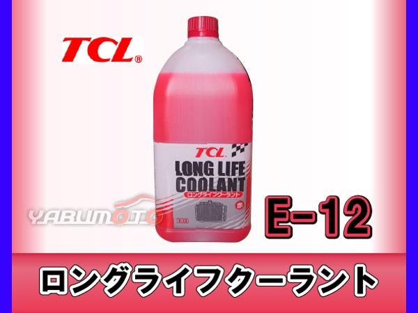 TCL ロングライフクーラント 赤 2L E-12 原液