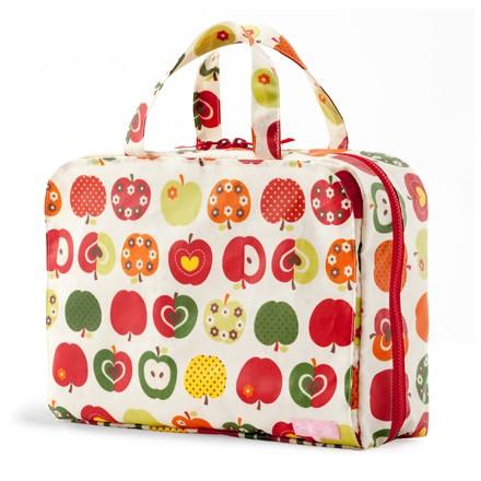 おむつポーチ バッグタイプ おしゃれリンゴのひ...