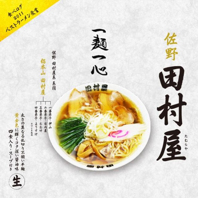 佐野ラーメン 田村屋・醤油味/醤油ラーメン