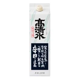 清酒 高清水 辛口パック 1800ml