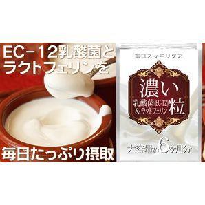 【メール便OK】濃い乳酸菌&ラクトフェリン粒(約...