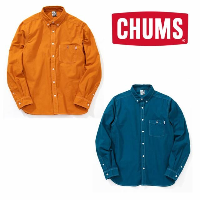 チャムス ガーメントダイオックスシャツ CH02-108...