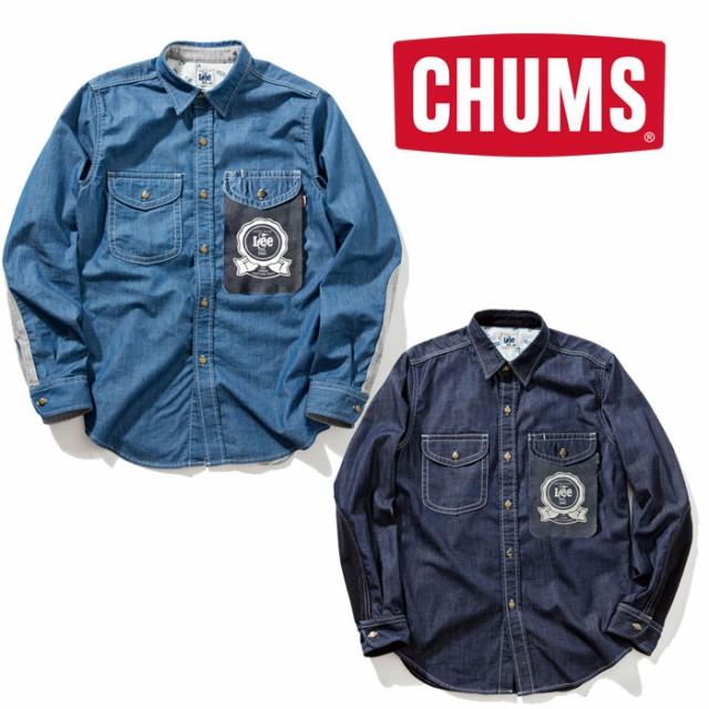 チャムス プレイシャツ(Lee×CHUMS) CH02-1098 ...