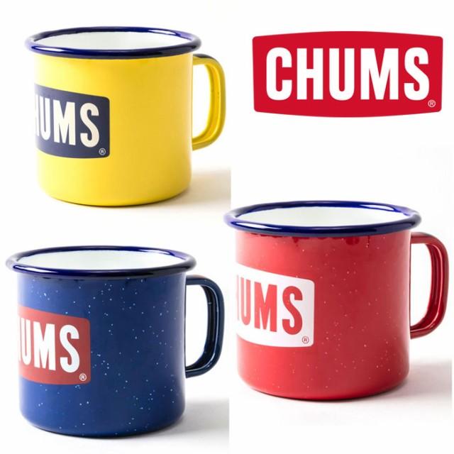 チャムス ボートロゴエナメルマグカップ CH62-119...