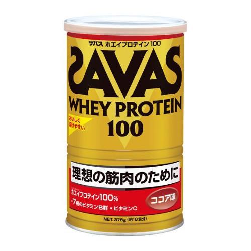 ザバス(SAVAS) ホエイプロテイン100 ココア味 378...