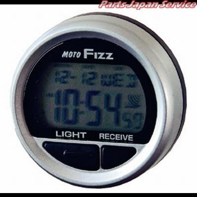 タナックス MF-4673 電波クロック シルバー