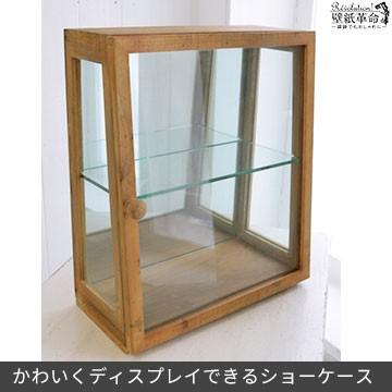 棚【ラスティ プチ ショーケース】ガラスケース ...