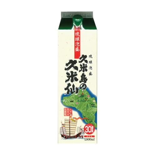 久米島の久米仙 30度 1.8l 紙パック|泡盛...