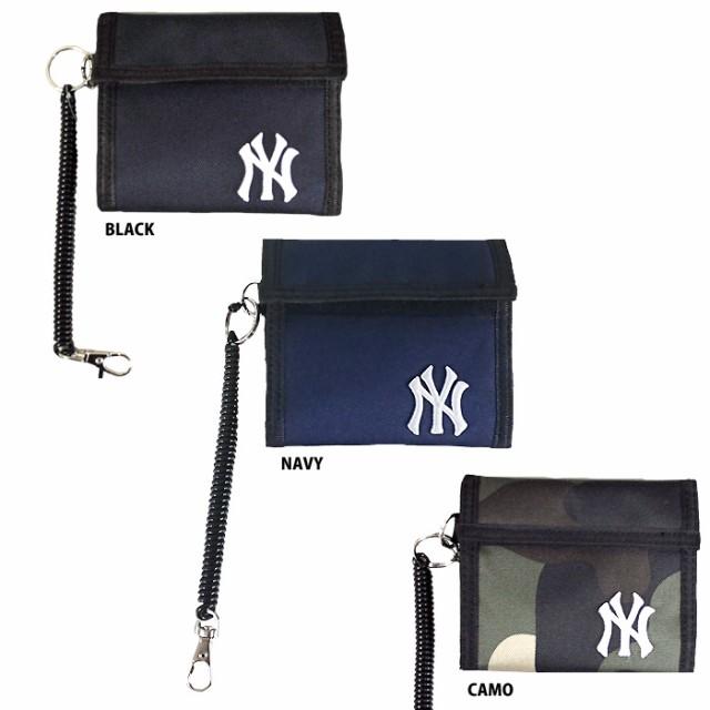 イーカム MLB 二つ折り財布 ニューヨークヤンキー...