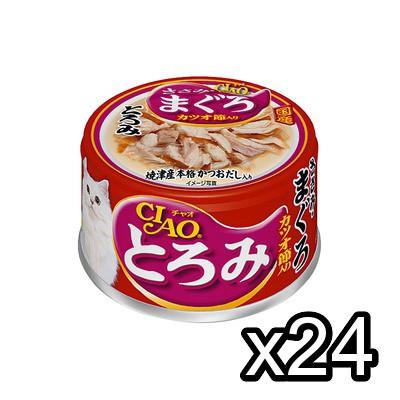 チャオとろみ80g×24缶入◆A-42/ささみ・まぐろ・...