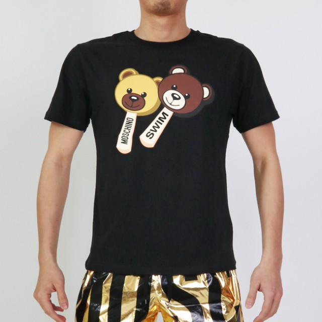 MOSCHINO モスキーノ 半袖Tシャツ 半袖 T ICE CRE...