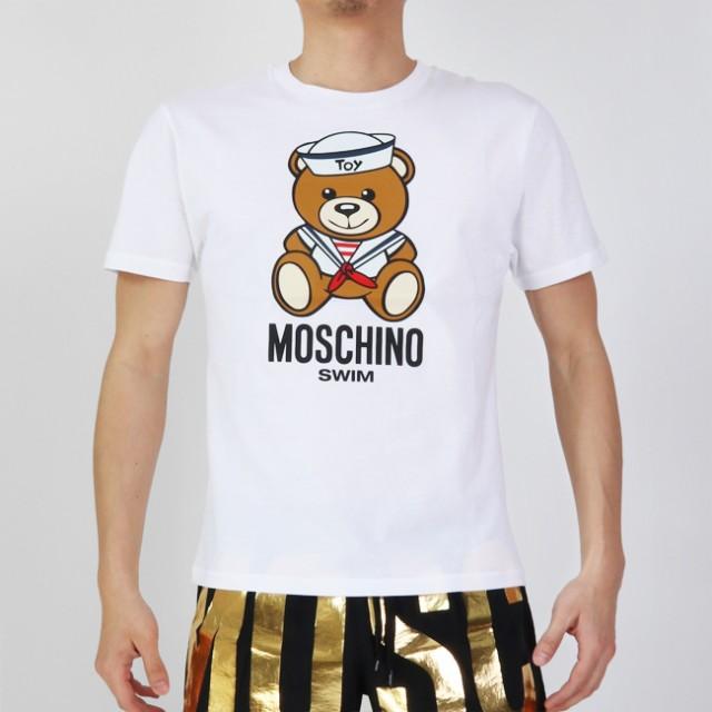 MOSCHINO モスキーノ 半袖Tシャツ 半袖 T SAILOR ...