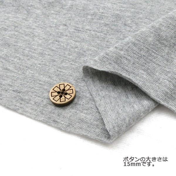 【数量5から】カラー天竺/GM30T-GY [生地/布/洋裁...