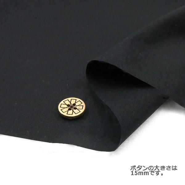 ○シーチング無地/YSC22125-100/黒 [生地/布/シー...