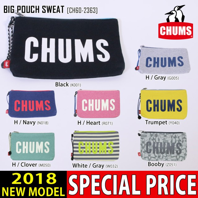 CHUMS チャムス ポーチ BIG POUCH SWEAT アクセサ...