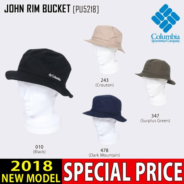 COLUMBIA コロンビア ハット JOHN RIM BUCKET 帽...