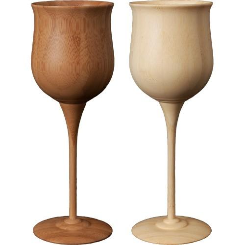 RIVERET ワイン ベッセル ペア ワイングラス 木製...