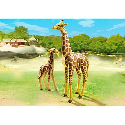プレイモービル 動物園シリーズ キリンの親子 ...