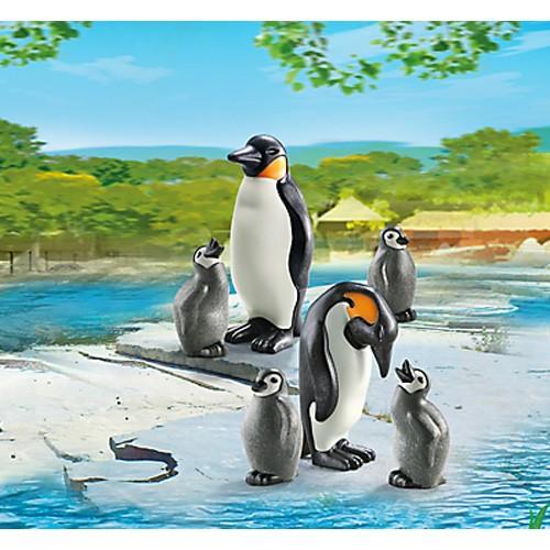 プレイモービル 動物園シリーズ ペンギンの家族...