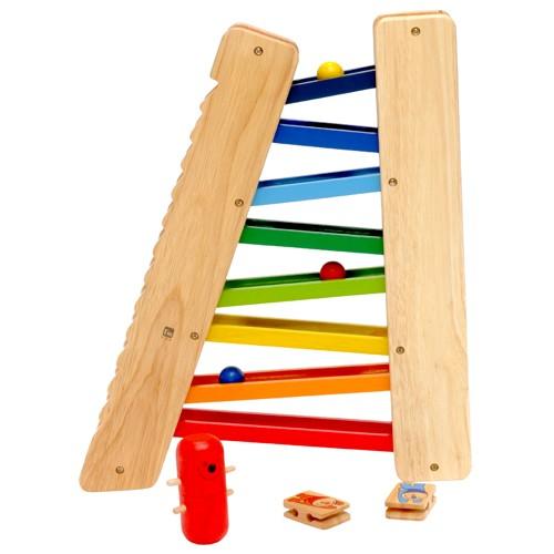 木のおもちゃ スロープ おもちゃ 誕生日 1歳 2歳 ...