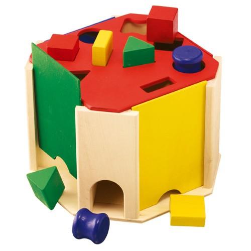 送料無料 積み木 ブロック 1歳 2歳 3歳 形合わせ ...