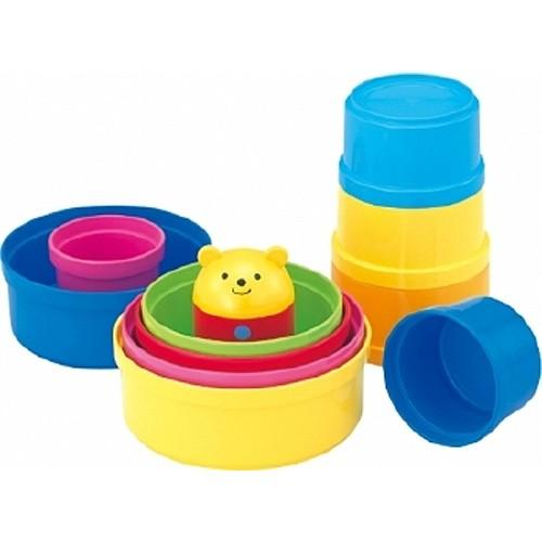 知育玩具 0歳 1歳 コンビ コップがさね 赤ちゃ...
