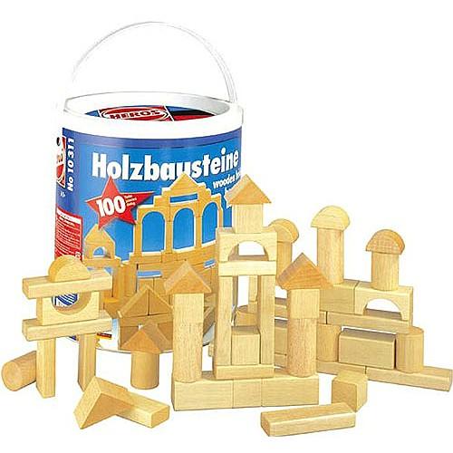 積み木 ブロック 1歳 2歳 3歳 ハーマンロスバーグ...