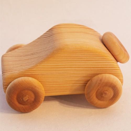 車のおもちゃ デブレスカ社 北欧のクーペ 木の...