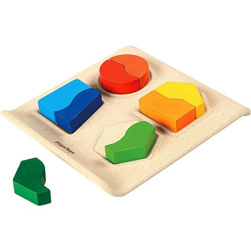 知育玩具 2歳 3歳 4歳 プラントイ シェープマッ...