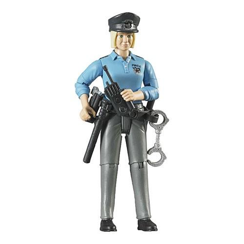 ブルーダー 白人女性警察官 ダンプカー(車のおも...