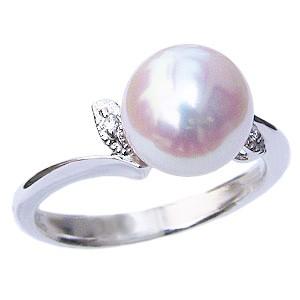 パール リング 真珠 指輪 あこや本真珠 silver シ...