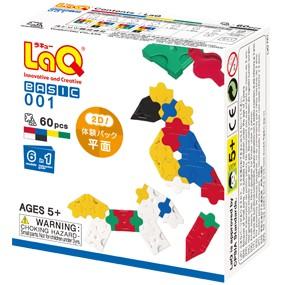 LaQ ベーシック 001/体験パック(平面) ラキュ...