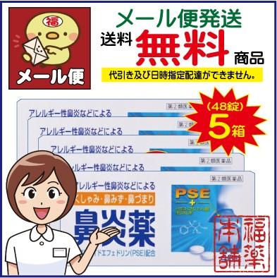 【第(2)類医薬品】鼻炎薬A「クニヒロ」(48錠×5...