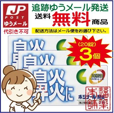 【第2類医薬品】☆ポジナールM錠(20錠×3個)[...