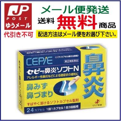 【第2類医薬品】セピー鼻炎ソフトN(24cap)[ゆ...