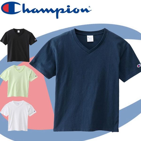 Champion(チャンピオン) VネックTシャツ CW-M32...