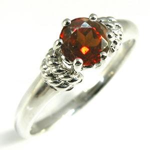 【送料無料】K18 ガーネット リング 大粒 指輪