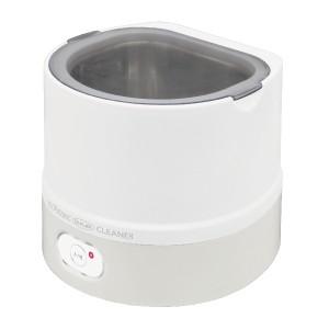 超音波入れ歯洗浄器 ホワイト/1台