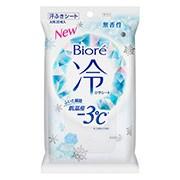 【花王 ビオレ 冷シート 無香性 20枚入】
