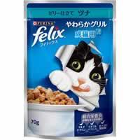 【フィリックス やわらかグリル 成猫用 ゼリー仕...