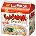 【マルちゃん しょうゆ味ラーメン 北海道限定 5食...